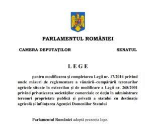 E LEGE ! INTERZISĂ VÂNZAREA TERENURILOR AGRICOLE CETĂȚENILOR STRĂINI! 1