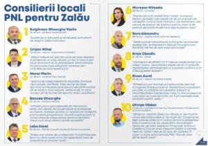 Consilierii locali PNL pentru Zalău 1